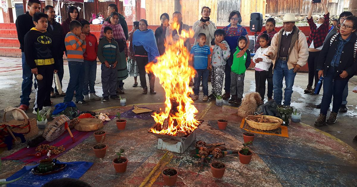 El Educador Comunitario: experiencias desde la comunidad de Huecorio