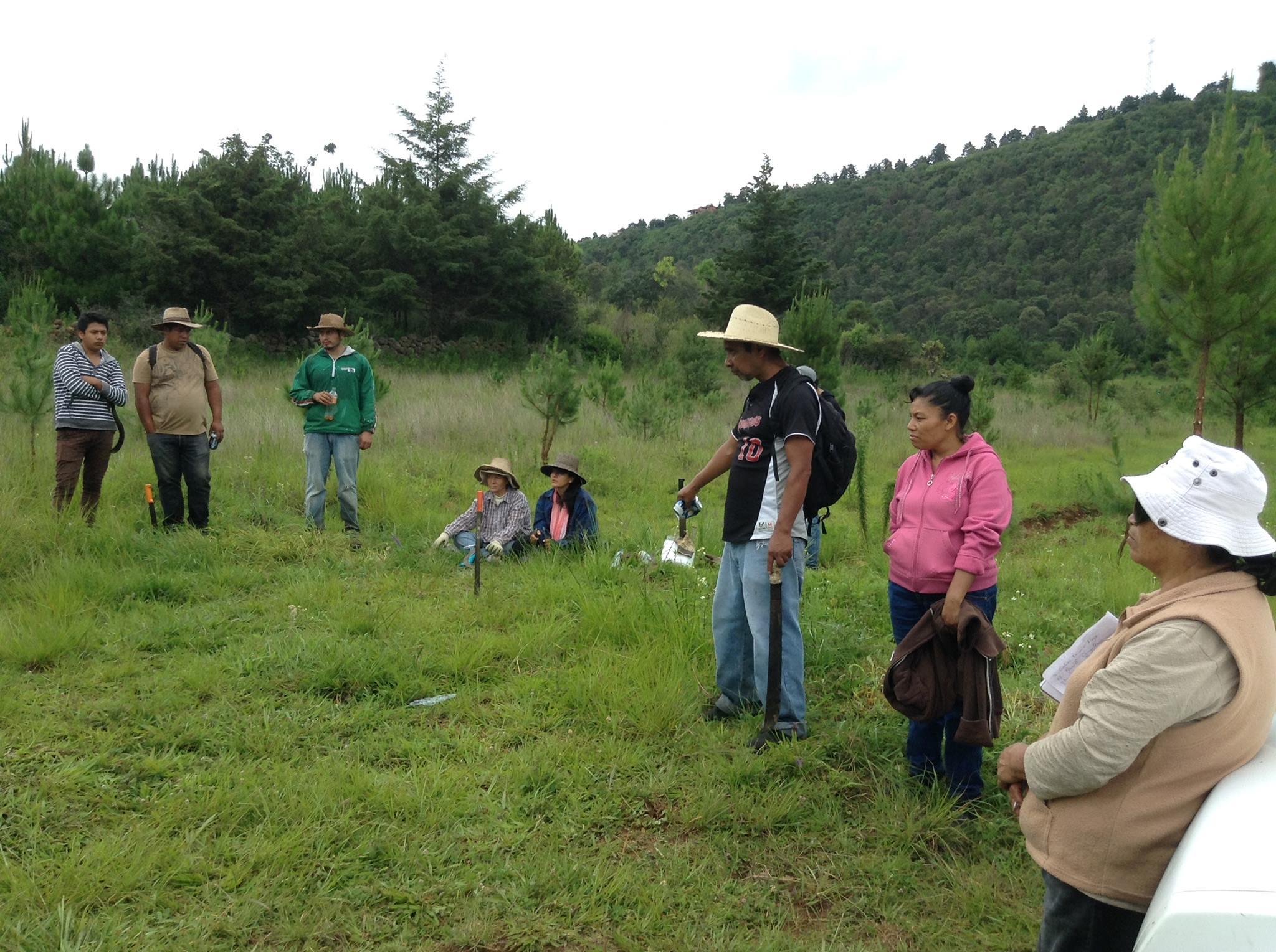 Trabajo colectivo para el cuidado del territorio